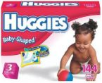 huggies size 3 - picture of the huggies size 3 diapers for children 16 to 28 pounds. Not for waste holding up to 28 pounds.
