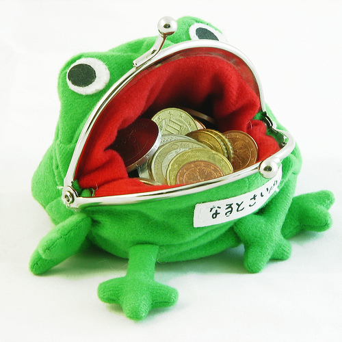 Naruto frog purse - This is like the purse which is used by Naruto.
