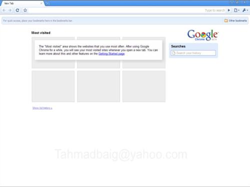 Google-Charome-Beta - It's New Google's Browser Named Charome