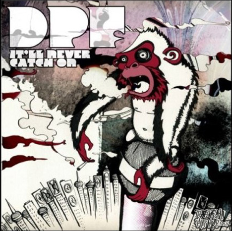 DPF - It'll never catch on. - Album cover for the new dpf album