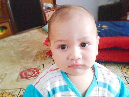 My cute nephew - isn't he cute?