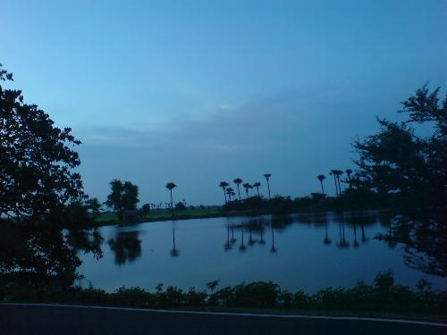 Dull Light view - Super View of Lake