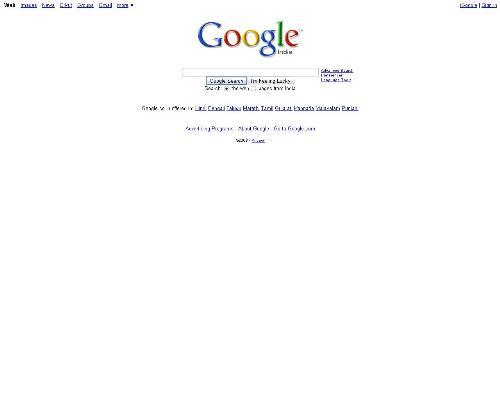 google search - www.google.co.in