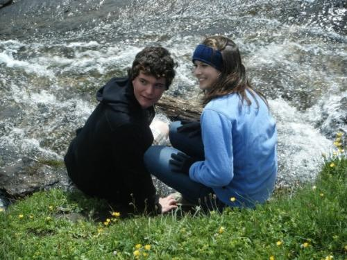 me and friend in switzerland - this is the photo i want as my default