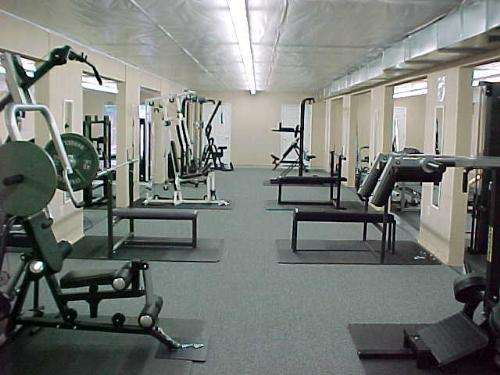 Gym - Many prefer doing exercises in gyms.