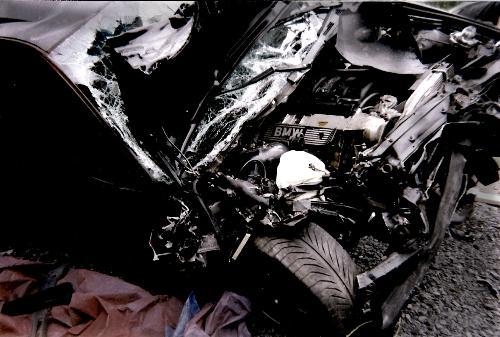 Car crash - Car accidents can be deadly