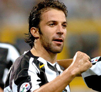 del piero - del piero winner photo