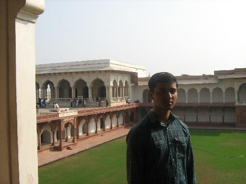 me - agra fort