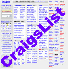 Craigslist.org - Online classified ads