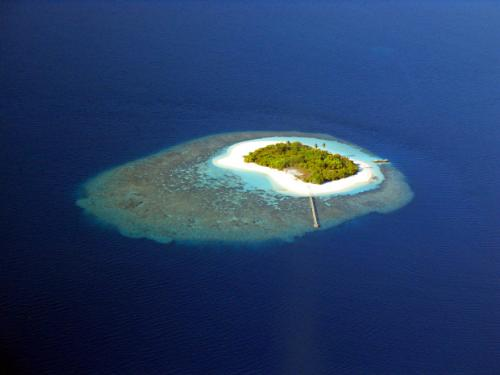 island - a beautiful and rare sight in the world