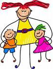 Parenting - cartoon representation of parenting