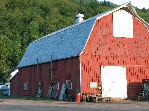 barn - This is the barn