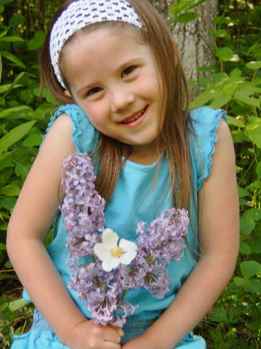 My daughter Kaitlin - This is a picture of my daughter taken shortly before she turned 6.