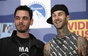 Travis Barker - This is a picture of Travis Barker and DJ AM prior to their accident.