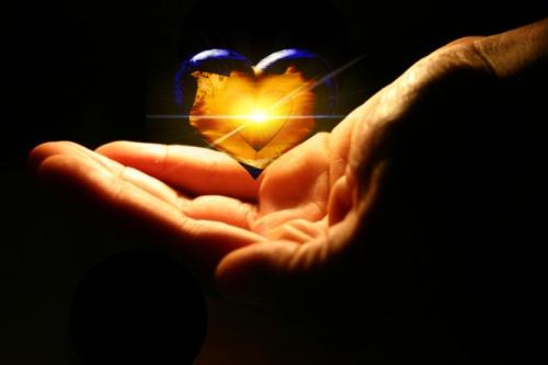 i give my heart to you! - love is sharing...