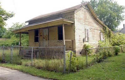 $1.75 house - A house bought on ebay for $1.75