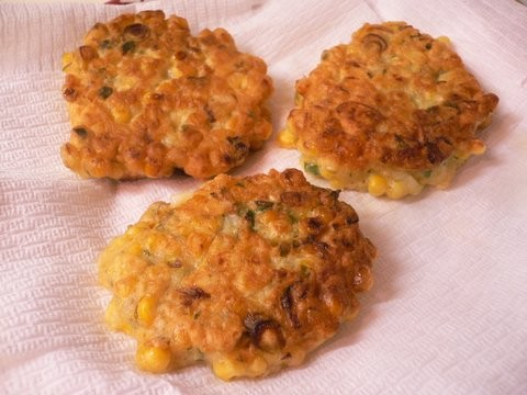 Corn Fritters - Corn Fritters. Crunchy and tasty.