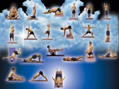 Yoga Positions - Yoga is good.