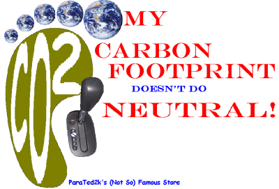 Carbon Footprint - Fun With the Carbon Footprint Scam