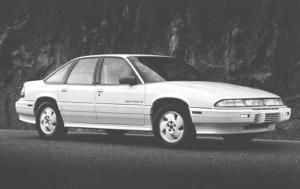 My Car - 1994 Pontiac Grand Prix, White 4 door