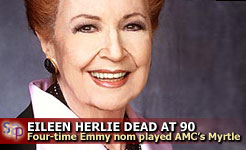 Eileen Herlie - The indomitable Myrtle Fargate.