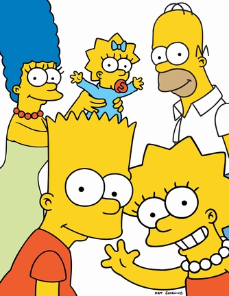 The Simpsons family - Image of The Simpsons family