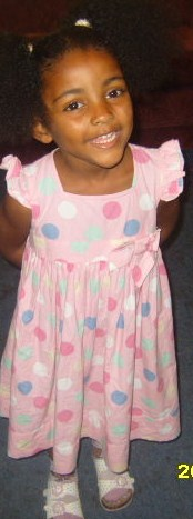 my daughter - my sleep phobic little angel.