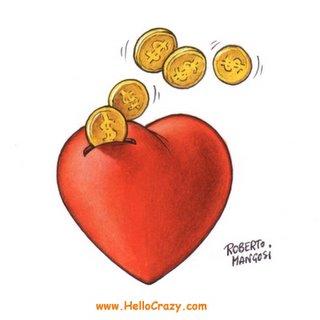 Buyin' love - Love v/s money