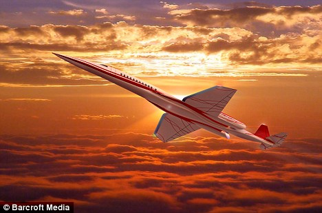 Aerion Supersonic Jet - The Aerion Supersonic Jet may not have the same grace and style and the size of the great Concorde, but the Aerion group are so sure that the plane will fly that they have pencilled in test flights for 2012, with transatlantic testing to follow soon after.