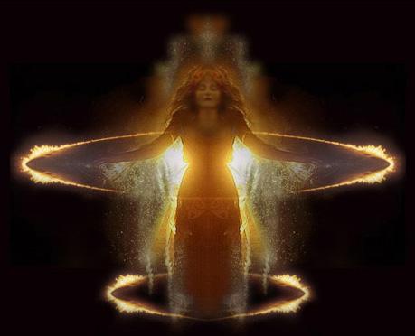 Spiritual Moment - A spiritual moment, of reverence.