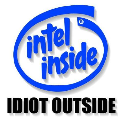 intel  - it is the world of intel