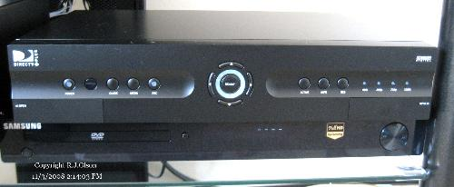 DVR Reciever - My DirectTV HDTV DVR reciever recently installed.