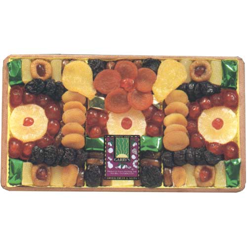 dried fruit - a tray of dried fruit