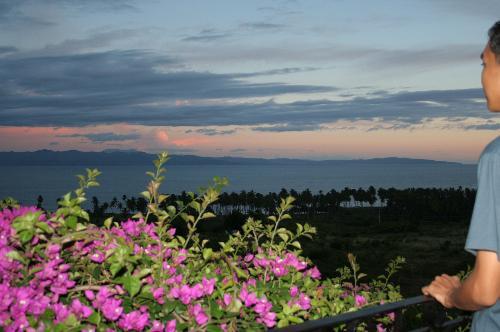 overlooking a bay - Unwinding in the highlands. Overlooking Sarangani Bay