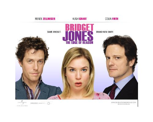bridget jones - movie poster
