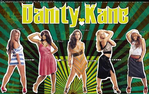 Remember these girls!!! - the old Danity Kane when they were young.