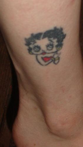 betty boop tattoo. myLot Photos - etty boop