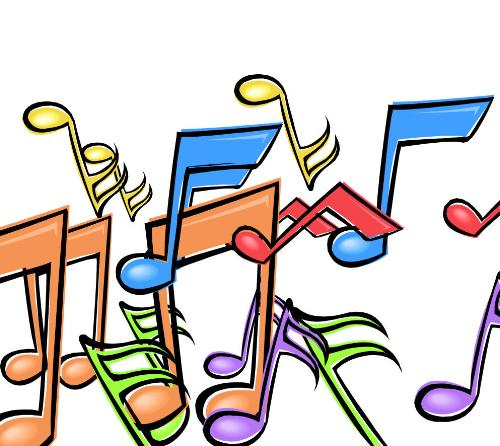music notes - just a graphic image I created