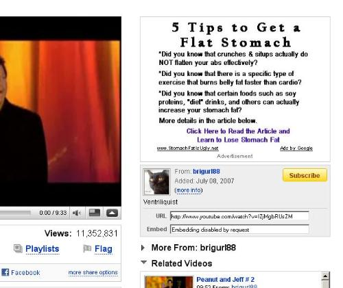 Youtube Adsense Ad - This is the Adsense advertisement in Youtube.