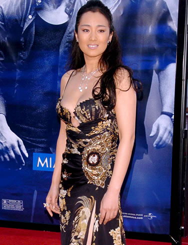 Gong Li recently converted to a Singaporean - A very famous actress from China changed her citizenship recently.