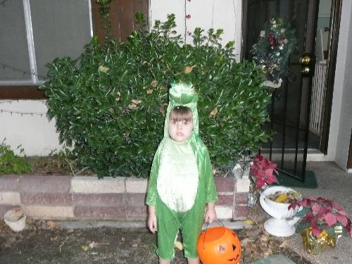 Shes a dragon - Grand daughters costum for halloween