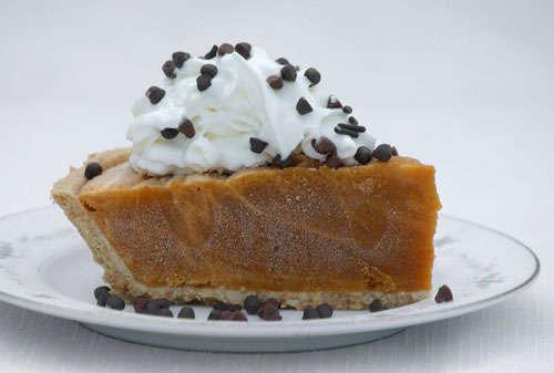 frozen pumpkin pie - have you tried a frozen pumpkin pie??