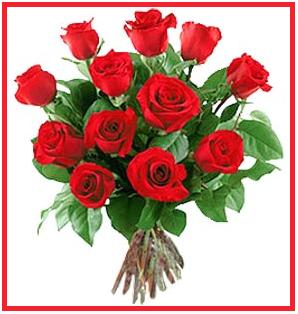12 roses - 12 on behalf of the roses - to the growing love you!