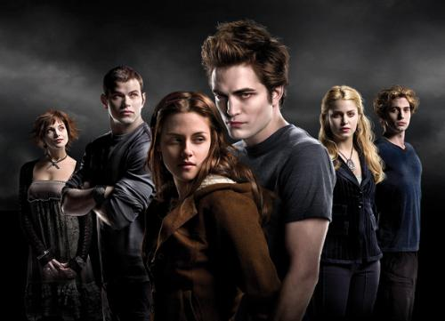Twilight - This is a group picture of the cast of twilight.