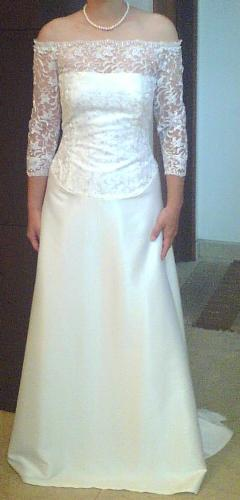 My Wedding Dress Princess Mia's Wedding Gown - Made by pastor's wife ...