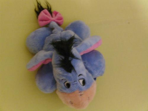 Eeyore plush animal - Eeyore plush animal i got a while back from my girlfriend is the first Disney plush that i ever received.