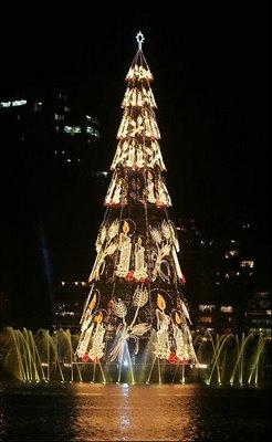 Biggest Christmas Tree. - Biggest Christmas Tree in Brazil