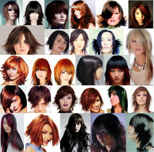 Different hair styles - Hair style