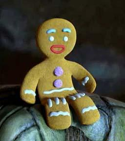 Gingerbread Man - Something I always love to eat when I was a kid
