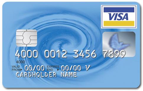 visa - plastic money , visa